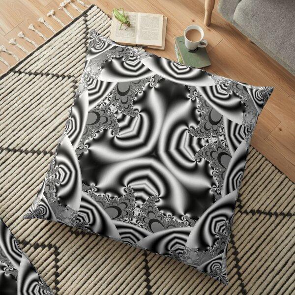 Infinity Circles 4 Floor Pillow