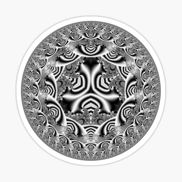 Infinity Circles 4 Sticker