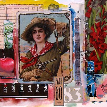 Cowgirl Collage by collageDP