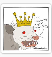 Goblin trash King Sticker