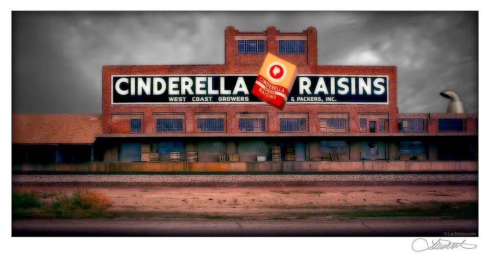 Cinderella Raisins by Lar Matre