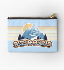 Rise and Grind  Studio Pouch