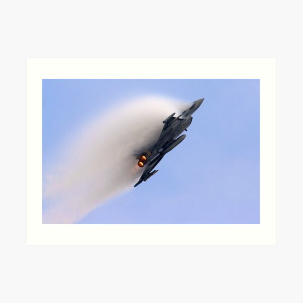 Eurofighter Typhoon F2 Art Print