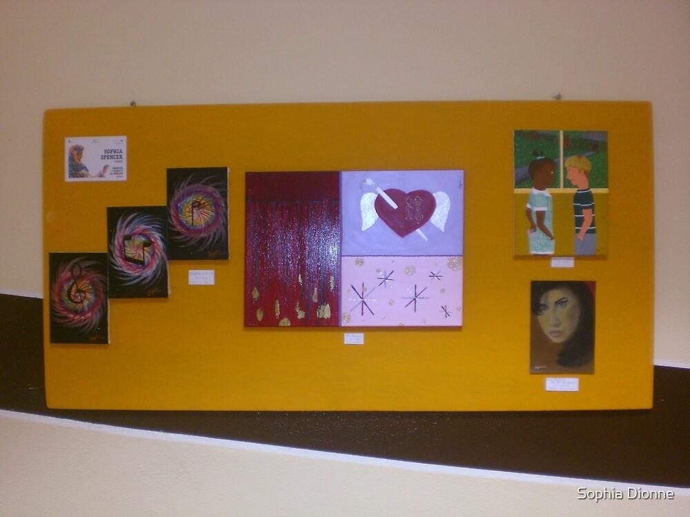 Fiera Group Exhibition.  Cagliari, Sardinia.  Board 2. by Sophia Spencer