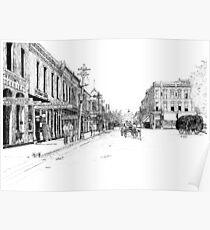Bentonville, Arkansas Square - 1914 Poster