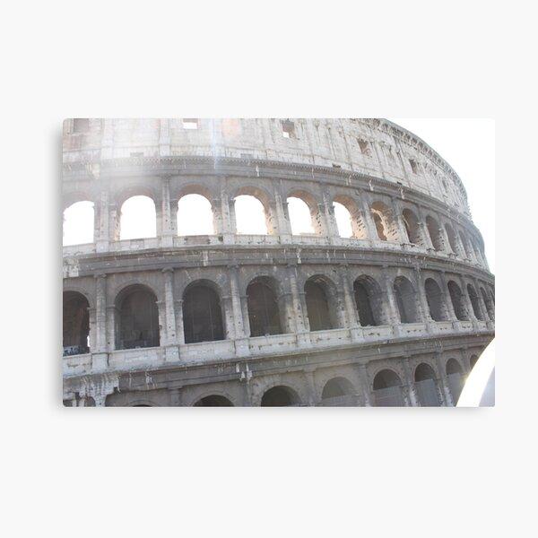 Colosseum or Coliseum, also known as the Flavian Amphitheatre Canvas Print