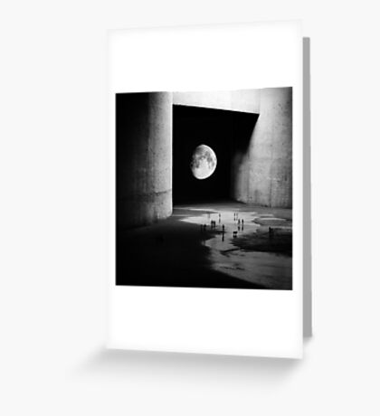 To the Moon Greeting Card