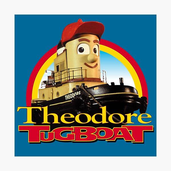 Theodore Tugboat Photographic Print