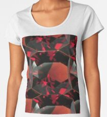 SMOKY ORANGE GARNET GEMS Women's Premium T-Shirt