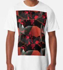 SMOKY ORANGE GARNET GEMS Long T-Shirt