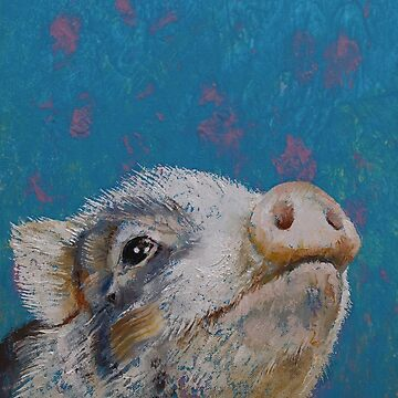 Baby Pig by michaelcreese
