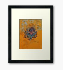 Baby Octopus Framed Print