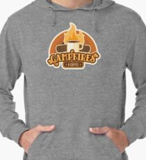 Campfires and Coffee Lightweight Hoodie