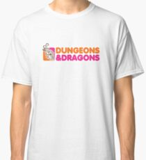 Dungeons and Dragons | Dunkin Donuts Classic T-Shirt