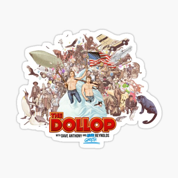 The Dollop 2018 (clothing) Sticker