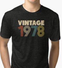 Camiseta de tejido mixto 40 cumpleaños