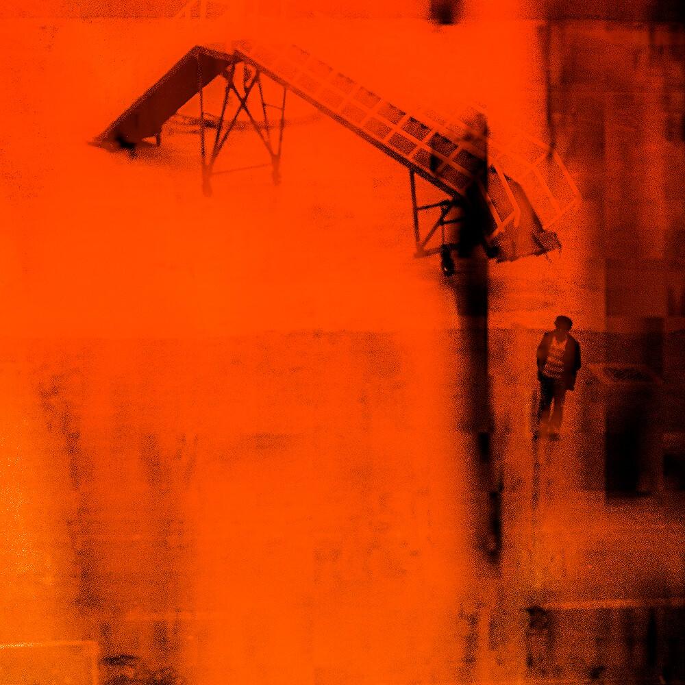 the dockworker by Frans Peter  Verheyen