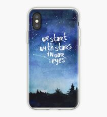 Stars In Our Eyes - Aries iPhone Case