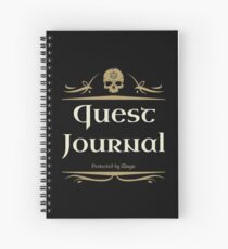 Quest Journal Game Master Tabletop RPG Addict Spiralblock