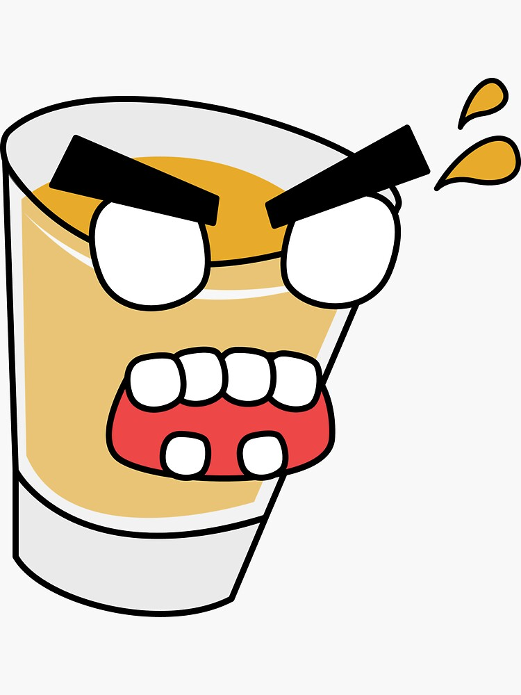 angry zombie whiskey shot by shortstack