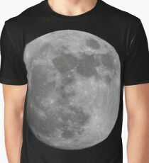 New Years Eve Moon Graphic T-Shirt