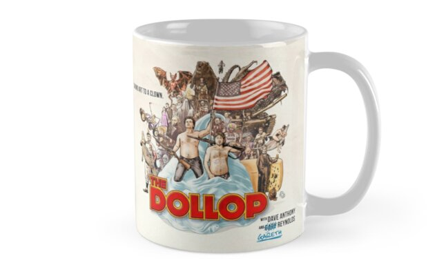 The Dollop 2014 - Mug by James Fosdike