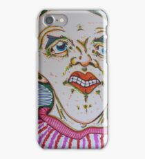 over worked smile iPhone Case/Skin
