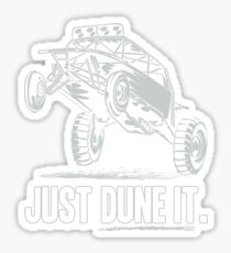 Dune Buggy Just Dune It Race Sticker