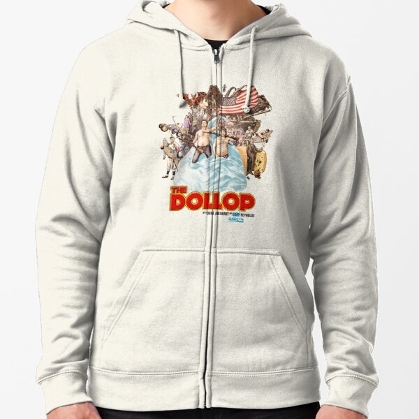 The Dollop 2014 - (T-Shirt) Zipped Hoodie