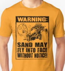 Dune Buggy Warning Dark Unisex T-Shirt