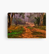 """""""Meandering into the Mist"""" Canvas Print"""