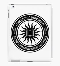 Miskatonic University Seal (Black) iPad Case/Skin