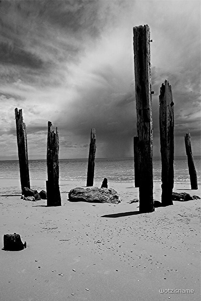 Old Willunga Jetty - South Australia by wotzisname