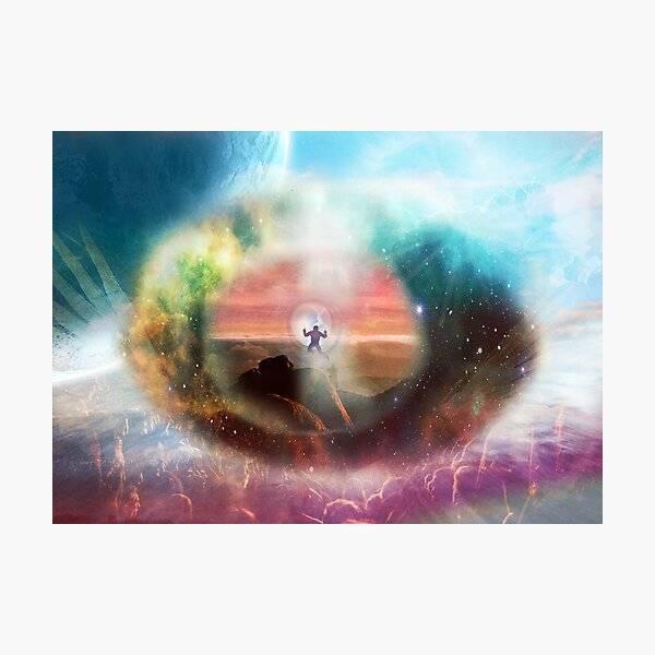 Through the Eye of God Photographic Print