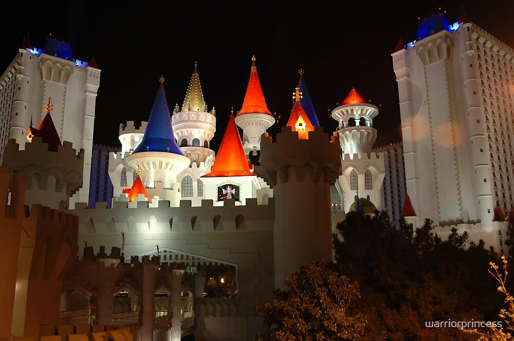 Excalibur Castle by warriorprincess