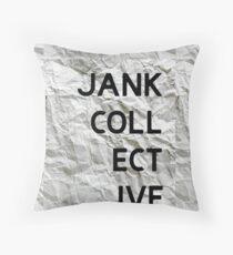 JANK COLLECTIVE Throw Pillow