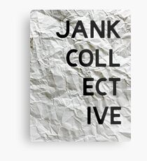 JANK COLLECTIVE Metal Print