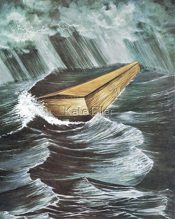 Noah's Ark .....God's Measurements.  by Kate Eller