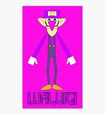 Waluigi Photographic Print