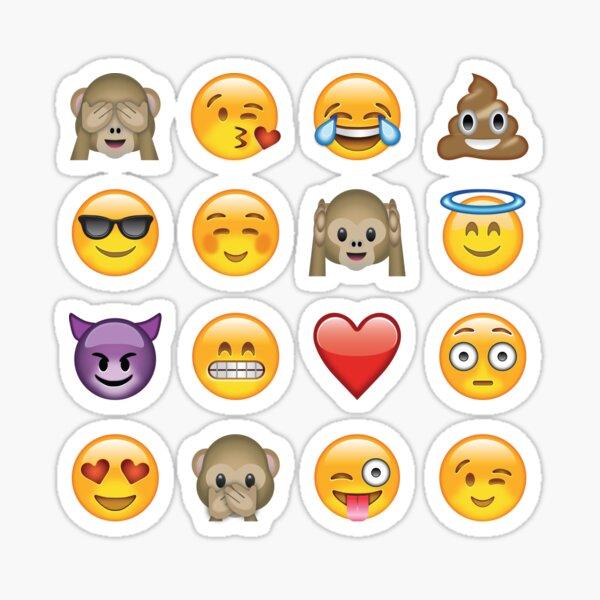 Pegatinas emoji Pegatina