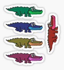 King Gizzard Gator The River Sticker