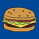 A Cheeseburger  by pondlifeforme