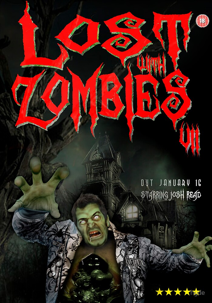 Zombie Poster. by hyde