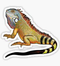 Green Iguana Sticker