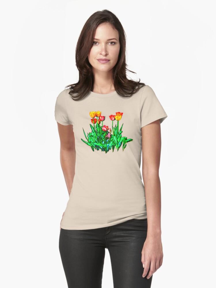 Tulips and a Hyacinth by Susan Savad