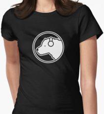 Polar Bear DJ Women's Fitted T-Shirt