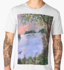 The view Men's Premium T-Shirt