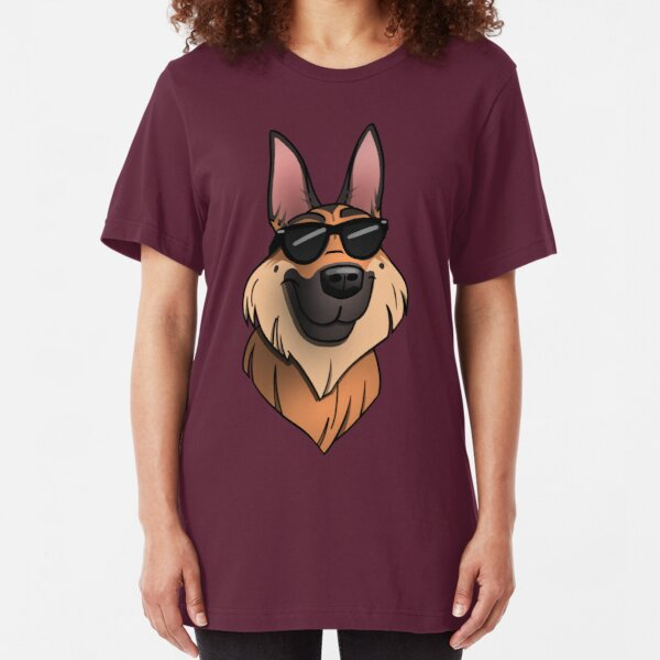 V Neck Style Ladies /& Men/'s Sizes German Shepherd Dog Breed T-Shirt