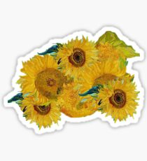 Van Gogh Sunflowers Sticker