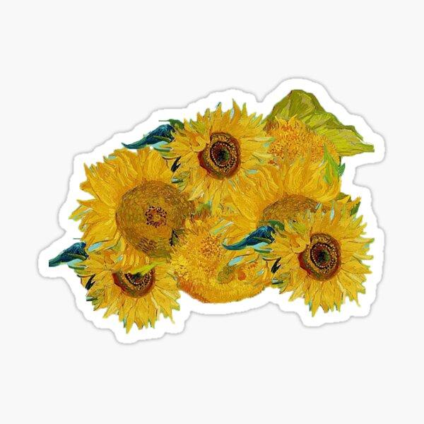 Van Gogh Sunflowers Sticker